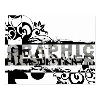 Graphic Designer Postcard