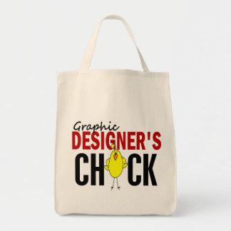 Graphic Designer s Chick Canvas Bag