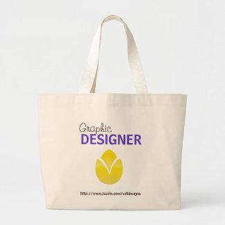 Graphic Designer Tote Bag Template