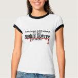 Graphic Designer Zombie Hunter T-Shirt