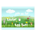 graphic Easter landscape Personalized Announcement