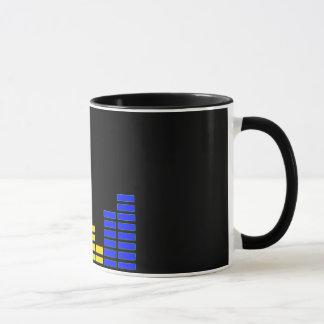 Graphic EQ Bars Music Mug/Cup Mug