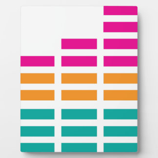 Graphic Equaliser Stereo Hi-Fi Plaque