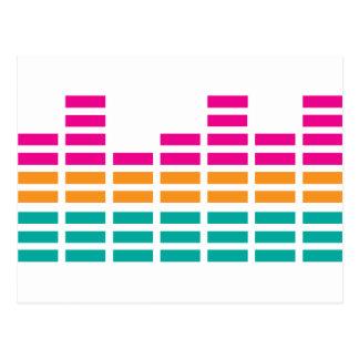Graphic Equaliser Stereo Hi-Fi Postcard