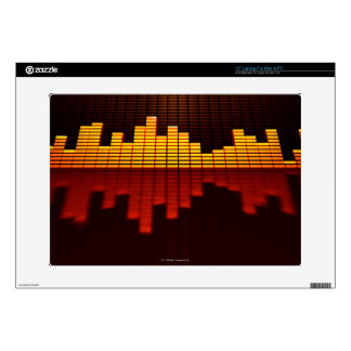 Graphic Equalizer Display Laptop Skin