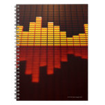 Graphic Equalizer Display Note Book