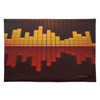 Graphic Equalizer Display Place Mats