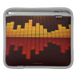 Graphic Equalizer Display Sleeve For iPads