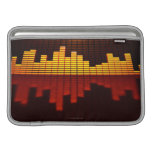 Graphic Equalizer Display Sleeves For MacBook Air
