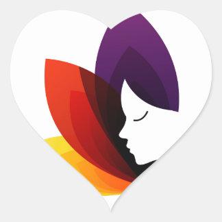 Graphic for ladies fertility center heart sticker