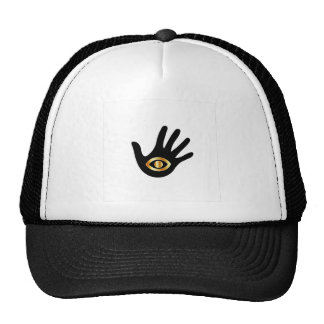 Graphic for psychic or mind reader trucker hat