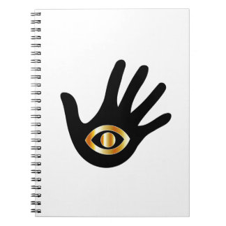 Graphic for psychic or mind reader notebook