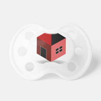 Graphic for real estate or home renovation pacifier