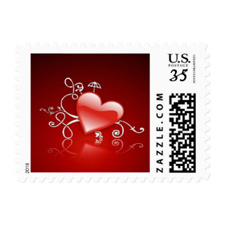 Graphic for St Valentine' s day - Postage Stamps