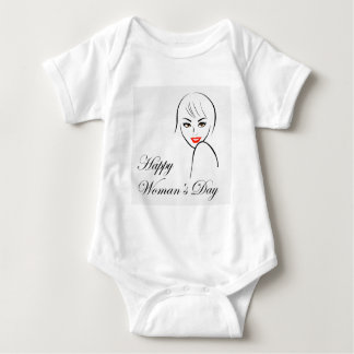 Graphic for womens day baby bodysuit