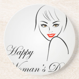 Graphic for womens day coaster