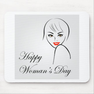 Graphic for womens day mouse pad