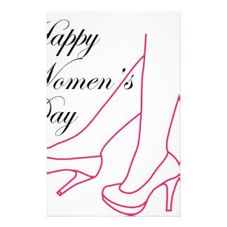 Graphic for womens day stationery