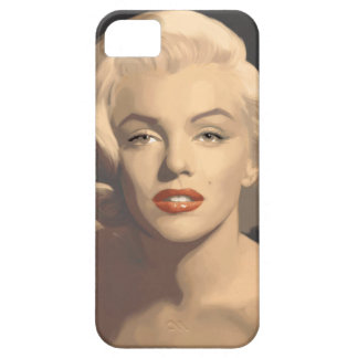 Graphic Gray Marilyn iPhone SE/5/5s Case
