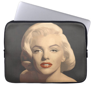Graphic Gray Marilyn Laptop Sleeve