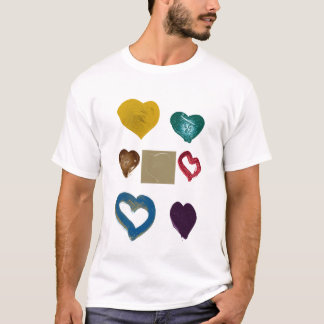 GRAPHIC HEART MEN'S T-SHIRT