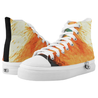 Graphic Holiday High-Top Sneakers