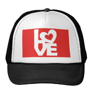 Graphic ilustración i You love with heart hablas Gorro