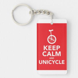 Graphic Jules & Uni Keychain Double-Sided Rectangular Acrylic Keychain