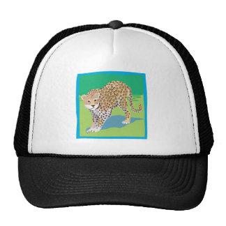 Graphic Leopard Hats