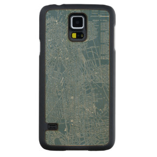 Graphic Map of Boston Carved Maple Galaxy S5 Case