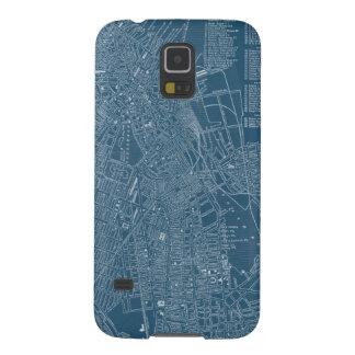 Graphic Map of Boston Galaxy S5 Case