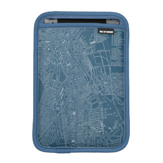 Graphic Map of Boston iPad Mini Sleeve