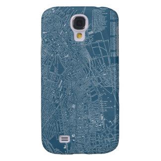 Graphic Map of Boston Samsung Galaxy S4 Case