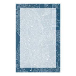 Graphic Map of Boston Stationery