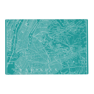 Graphic Map of New York Placemat