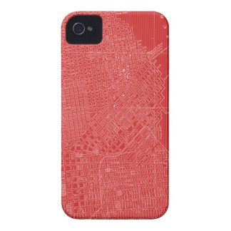Graphic Map of San Francisco iPhone 4 Case