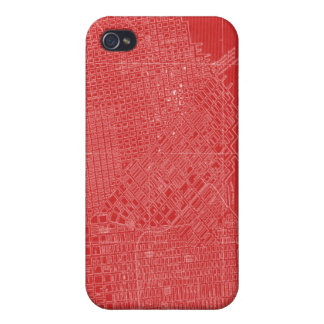 Graphic Map of San Francisco iPhone 4 Cover