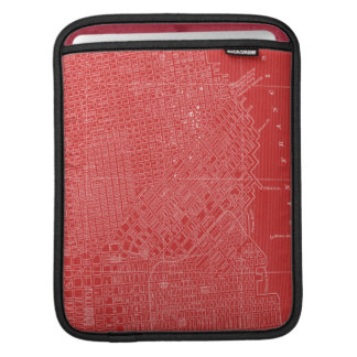Graphic Map of San Francisco Sleeves For iPads