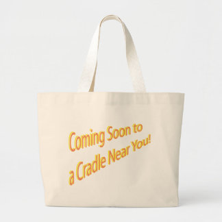 Graphic Maternity Section Large Tote Bag