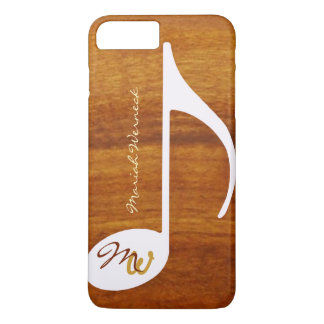 graphic music wood style iPhone 7 plus case