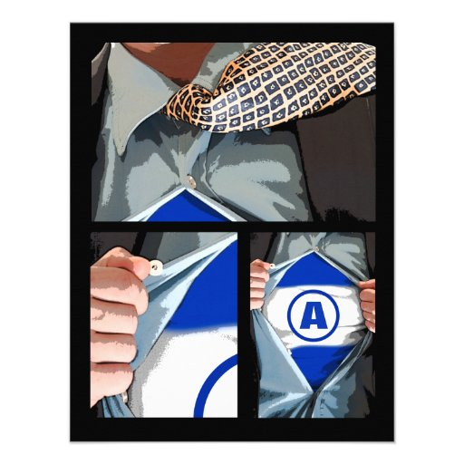 Graphic Novel Bar Mitzvah Reply Card Invitation