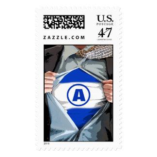 Graphic Novel Bar Mitzvah Stamp, Large Postage