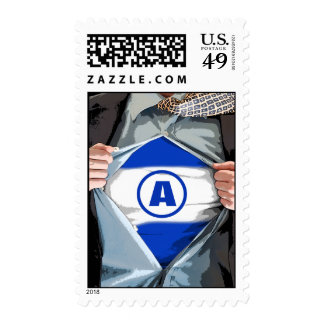 Graphic Novel Bar Mitzvah Stamp, Medium