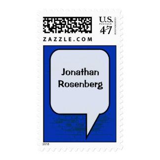 Graphic Novel Bar Mitzvah Stamp, Medium Postage Stamp