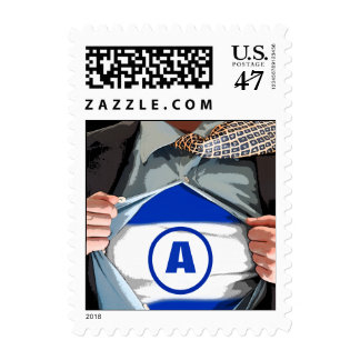 Graphic Novel Bar Mitzvah Stamp, Small Postage