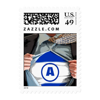 Graphic Novel Bar Mitzvah Stamp, Small Stamps