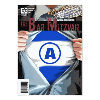 Graphic Novel Bar Mitzvah with Bet Hey Card