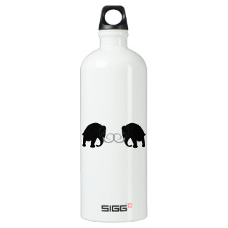 Graphic of 2 Mammoths Water Bottle