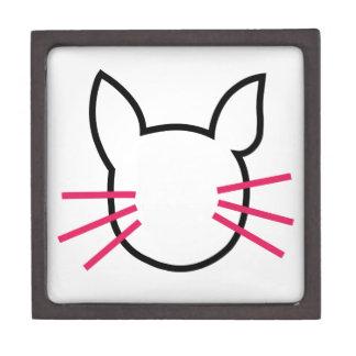 graphic of a cat keepsake box