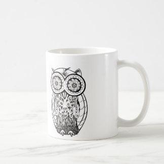 Graphic Owl Mug